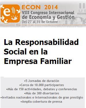 """8vo. Congreso Internacional de Economía y Gestión """"Econ 2014"""""""