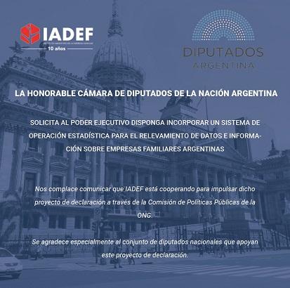 IADEF colabora en la formulación de políticas públicas